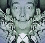 Salvador Dali duplicated