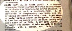 definition of oath