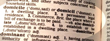 definition of domicile