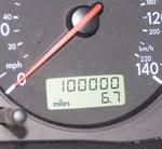vehicle odometer