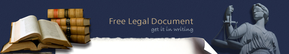 Absolutely Free Legal Documents To Download - Get legal forms