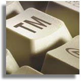 TM on keyboard