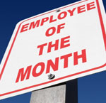 Signpost employee of the month