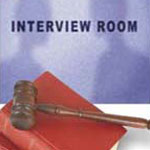 interview room and gavel