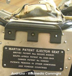 patent for ejector seat