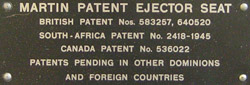 label with patent information
