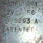 stamped patent