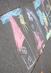 child drawing of house