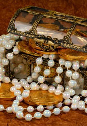 jewelry and coins