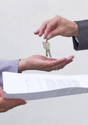 exchanging contract and keys