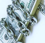 chained money