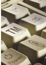 keyboard with TM