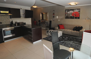 furnished holiday apartment