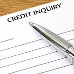 credit inquiry form