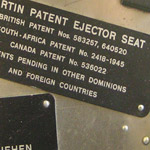 plaque with patent registration