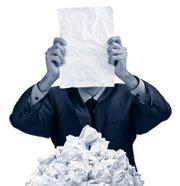 man found document