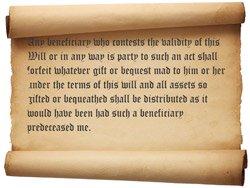 no-contest clause