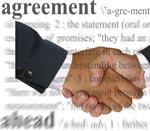handshake over agreement