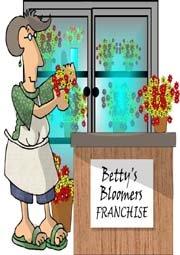 florist franchise cartoon
