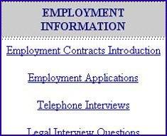 legal information