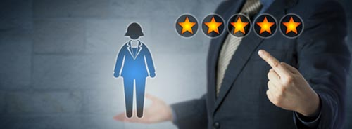 employee star rating
