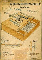 patent for typewriter