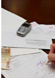 receipt and bills