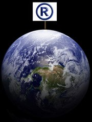 earth and registered tm