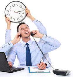 multitasking Employee