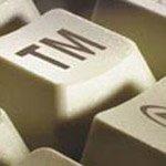 TM on computer key