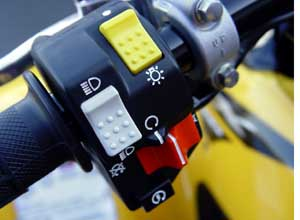 motorcycle hand controls