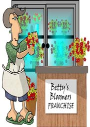 florist franchise cartoon