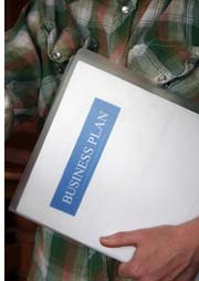 business plan folder