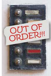 out of order intercom