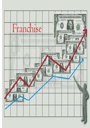 graphs showing franchise sales