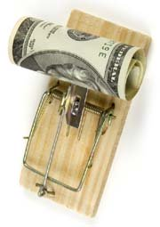 mousetrap with money