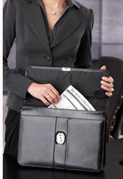 contract in briefcase