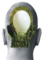 head with lightbulb idea